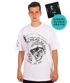 Brain Dead Familia-Death T-shirt Biały