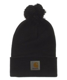 Carhartt-Bobble Watch Hat Czapka Zimowa Black