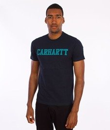 Carhartt-College T-Shirt Navy/Severn