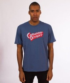 Carhartt WIP-Doctor Detroit T-Shirt Blue Iris