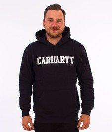 Carhartt WIP-Hooded College Sweat Bluza Kaptur Dark Navy/White