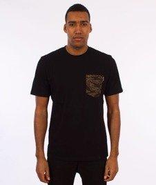 Carhartt WIP-Lester Pocket T-Shirt Black/Camo Tiger