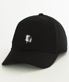 Cayler & Sons-BL Freedom Corps Curved Snapback Black/White