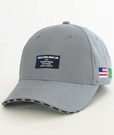 Cayler & Sons-BL Sierra Bravo Curved Snapback Grey/Navy