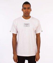 Crooks & Castles-Neo Core Logo T-Shirt Biały