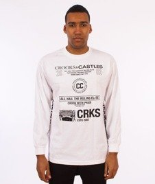 Crooks & Castles-Recognition Longsleeve Biały