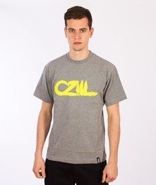 Czill-Pędzel T-shirt Szary