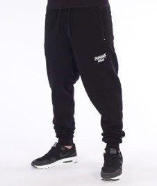 Diamante-Hipster Spodnie Dresowe Czarne