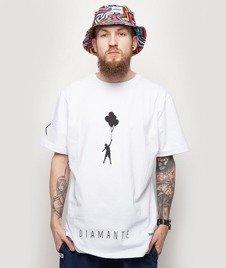 Diamante-My Life 2 T-Shirt Biały