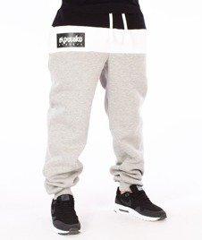El Polako-3 Colors Regular Spodnie Dresowe Szare