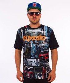 El Polako-Boombox T-Shirt Czarny