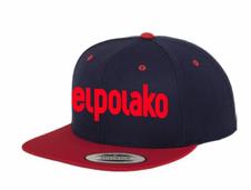 El Polako CLASSIC Snapback Granatowy/Czerwony