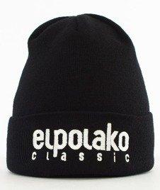 El Polako-Classic EP Czapka Wywijana Czarna