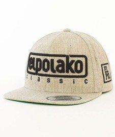 El Polako-Classic Snapback Szary