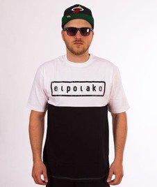 El Polako-Classic Style T-Shirt Biały/Czarny