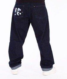 El Polako-ELPK Baggy Jeans Dark Blue