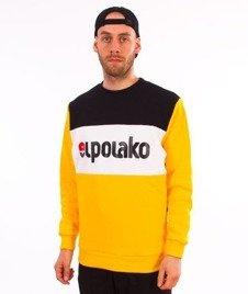 El Polako-Elpo New Crewneck Bluza Żółta