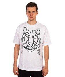 El Polako-Geometric Tiger T-Shirt Biały