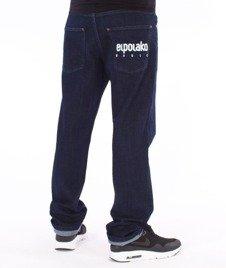 El Polako-Little Classic Slim Jeans Spodnie Ciemne Spranie