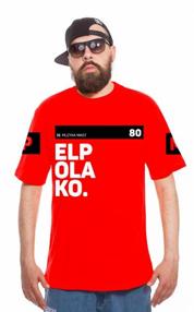 El Polako-OK T-Shirt Czerwony