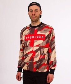 El Polako-Red Triangle Moro Bluza Premium