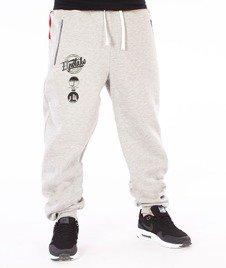 El Polako-Style Premium Spodnie Dresowe Szare