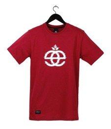 Elade-Icon Glitch T-Shirt Maroon