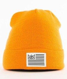 Ganja Mafia-Flag Czapka Zimowa Orange