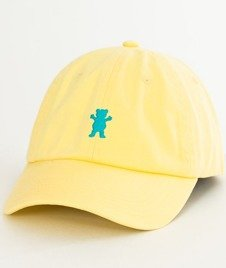 Grizzly-OG Dad Hat Snapback Yellow