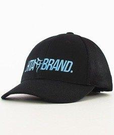 Hipotonia-HTA Brand Snapback Czarny/Niebieski/Czarny