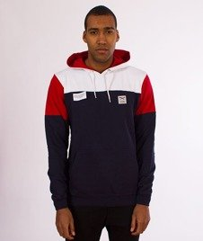 Iriedaily-Blow Up Hoody Bluza Kaptur Navy Red