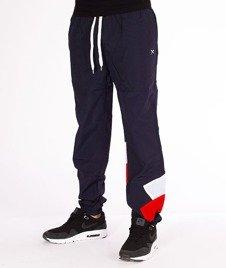 Iriedaily-Get Down Track Pant Spodnie Navy Red
