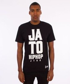 JTHH-Ja To Hip Hop T-shirt Czarny