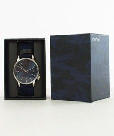Komono-Winston Print Camo Blue