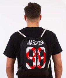 MASS-Crest Gym Bag Worek Czarny