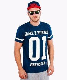 MVP Wear-GZNP T-shirt Granatowy