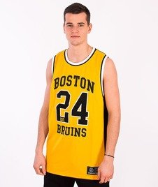 Majestic-Boston Briuns Tank-Top Yellow