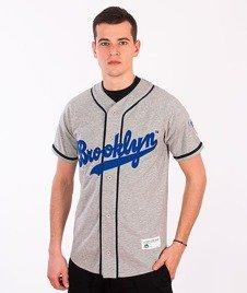 Majestic-Brooklyn Dodger Jersey Grey