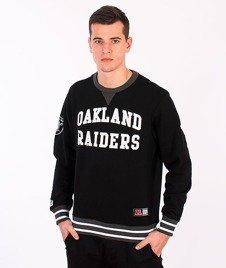 Majestic-Oakland Raiders Crewneck Black
