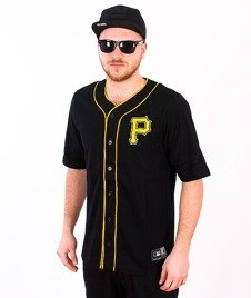 Majestic-Pittsburg Pirates Jersey Black