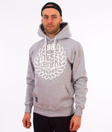 Mass-Base Bluza Kaptur Light Heather Grey