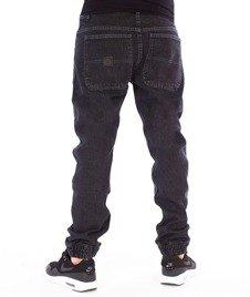 Mass-Base Jogger Pants Sneaker Fit Spodnie Black Rinse