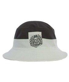 Mass-Base Pocket Bucket Hat Szary/Biały