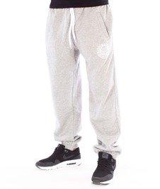 Mass-Base Regular Fit Spodnie Dresowe Light Heather Grey