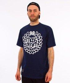 Mass-Base T-Shirt Granatowy