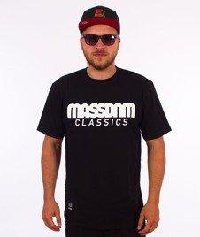 Mass CLASSICS T-shirt Czarny