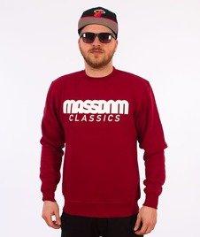 Mass-Classics Crewneck Bluza Claret