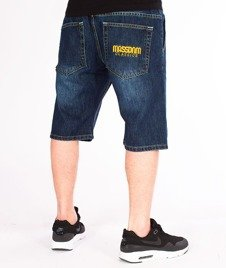 Mass-Classics Shorts Jeans Straight Fit Dark