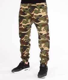 Mass-Jogger Base Sneaker Fit Spodnie Woodland Camo
