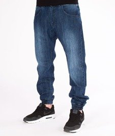 Mass-Jogger Jeans Base Sneaker Fit Spodnie Dark Blue